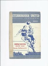 Peterborough United v Doncaster Rovers 23 March 1957 Midland League
