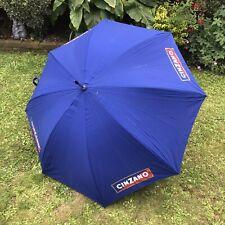 Cinzano Large Handheld Umbrella 117CM Advertising Pub Umbrella