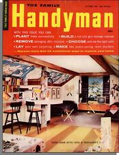 Family Handyman - 1960, October - Attic Bedroom For Teenagers, Carpet Stains