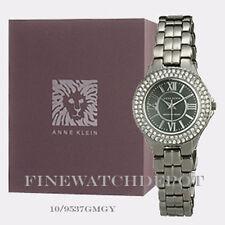 Authentic Anne Klein Women's Silver Tone Bracelet Watch 10/9537GMGY