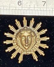 New Sunburst Pendulum Bob for French Clocks