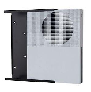 Xbox One S Wall Mount - Steel - Black - High Quality - Sleek Design - Made in UK