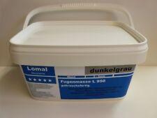 Lomal L 950  Fertigfuge dunkelgrau Fugenmörtel wasserdicht Kunstharz pro Kilo