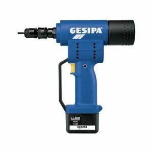 GESIPA FireBird Akku-Einnietmutter-Setzgerät mit 14,4 V Li-Ion Akku
