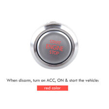 EASYGUARD Replacement push engine start stop button for ec002 P3 red