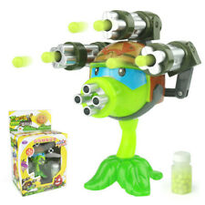 1PCS interesting Plants vs Zombies anime Figure Model Toy 15cm Gatling Pea
