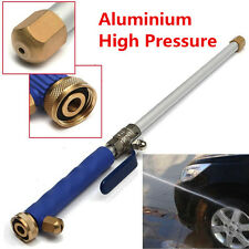 "18"" Aluminium High Pressure Power Car Washer Spray Nozzle Water Gun Hose w/Tips"