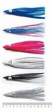 30 XOctopus Squid Skirt FishingTrolling Jig Lure 6 Colours 12CM,Fishing Tackle