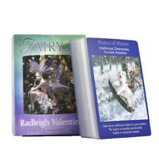 Fairy Tarot Cards: A 78-Card Deck and Guidebook Colorful Game Cards Friend Gifts