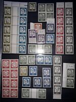 Germany West 1961 'Significant Germans' Specials in MNH. Free UK P&P