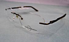 Naturally Rimless NR 346 Eyeglass Frames Women's Glasses RX-able Retail $96 KD