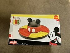 New Disney Mickey Mouse Gummy Treat Maker 4 Mold Trays Works With Chocolate Too