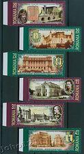Rumänien 2007 Mi.6192-97 ** Das alte Bukarest,Old Bucharest,Vlad Dracul,Tepes