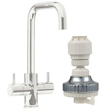 2x Eco Water Kitchen Tap Faucet Aerator Filter 360° Swivel Adjustable Nozzle