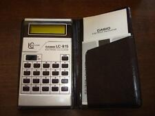 CALCULADORA - CALCULATOR. CASIO LC-815.  COD$*2 -