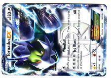 POKEMON BW9 BLACK & WHITE PLASMA FREEZE HOLO N°  98/116 TORNADUS EX 180 HP