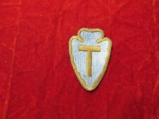 WW 2 36th  Infantry Division US Army Patch Snow back Gold-Brown OD Border