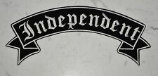 Independent Rocker Got XL Top IRON ON PATCH Aufnäher Parche brodé patche toppa