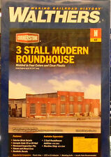 Walthers N Scale Modern Roundhouse New.