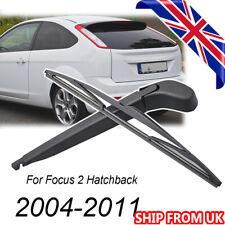 """14"""" UK Rear Wiper Arm & Blade Kit For Ford Focus Mk 2 Hatchback 2004-2011 350mm"""
