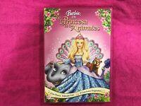 BARBIE EN LA PRINCESA DE LOS ANIMALES DVD CON 9 CANCIONES ORIGINALES