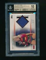 2017 Topps WWE Womens Division /199 Shirt Relic Alexa Bliss BGS 10