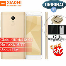 Original Xiaomi Redmi Note 4X 32GB Snapdragon 625 Octa Core Smartphone Gold