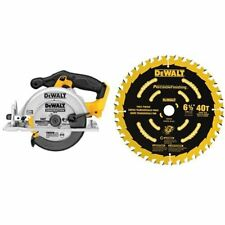 DCS391B 20-Volt MAX Circular Saw With Blade 6-1/2-Inch 40T Hand Tool Jobsite