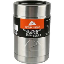 Ozark Trail 12-Ounce Vacuum Insulated Stainless Steel Can Cooler