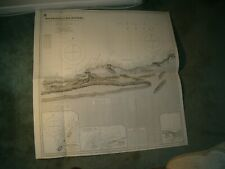 Vintage Admiralty Chart 100B Gulf Of Aden - Southern Part 1921 edn