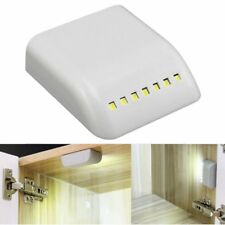 7LED Portable Wireless Cabinet Night Light Motion PIR Sensor Closet Under Lamp