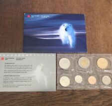 1999 Canada PL Set - 7 Coins W Mint Packaging And Inserts! Polar Bear Version