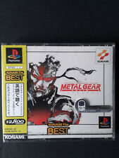 PLAYSTATION PS1 Metal Gear Solid Jap-NEUF/Scellé-NEW FACTORY SEALED