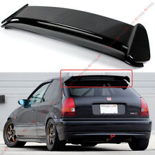 FOR 96-00 HONDA CIVIC 3DR HATCHBACK GLOSS BLACK TYPE-R STYLE ROOF SPOILER WING