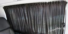 VW transporter T4 rear curtains full set. Campervan blinds Black