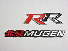 Honda Mugen RR Emblem Red White Black logo badge sicke Sir Acurr CIVIC ACCORD SI
