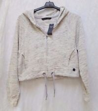 Abercrombie & Fitch Hoodie White Hoodies & Sweatshirts for Women