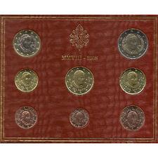 Vaticano. Cartera Oficial Euros Año 2008./ Vatican. Official Euro coin Year 2008