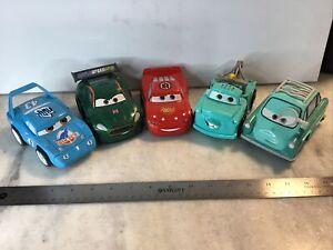 Lot of 5 CARS DISNEY Shake 'N Go WORLD GRAND PRIX WORKS