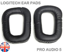 Replacement Ear pads for Logitech G35 G930 G430 F450 - High Quality -(1 Pair) UK