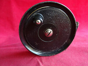 """A VERY GOOD VINTAGE ALLCOCK 3 1/2"""" POPULAR TROUT FLY REEL"""