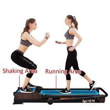 EGOFIT M2 Treadmill 3 in 1 Running Machine 7.5Mph Vibration Platform Walking