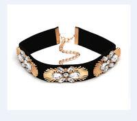 Kropfband * SAMT * Choker  Halsband Samtband Trachten Kette