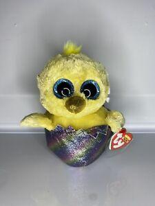 "Megg Chicken Ty Beanie Boos 6""/15cm Easter"