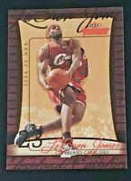 LeBRON JAMES 2004-05 Fleer Throwbacks  #23 (2nd YEAR) Cavaliers L@@K 🔥🔥🔥🔥🔥