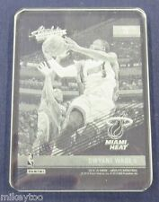 Dwyane Wade - 2015-16 Absolute Memorabilia Glass #15 - With redeemed card