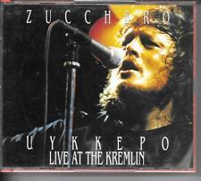 COFFRET ALBUM LIVE 2 CD 17 TITRES--ZUCCHERO--UYKKEPO - LIVE AT THE KREMLIN 1991
