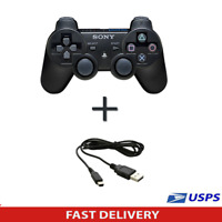 Official Genuine Sony PS3 Wireless Dualshock3 Controller + Charging cable
