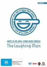 Ghost In The Shell -Stand Alone Complex - The Laughing Man (DVD,2008,2-Disc)R4