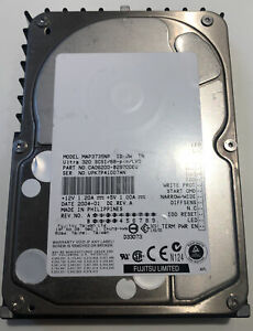 "Fujitsu MAP3735NP 73GB Ultra 320 SCSI/68-pin/LVD 3.5"" Hard Disk CA06200-B29700EU"
